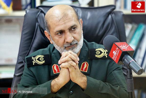 سردار سنایی:حمله موشکی سپاه به دنبال اقدامات شرورانه تکفیری ها در تهران بود